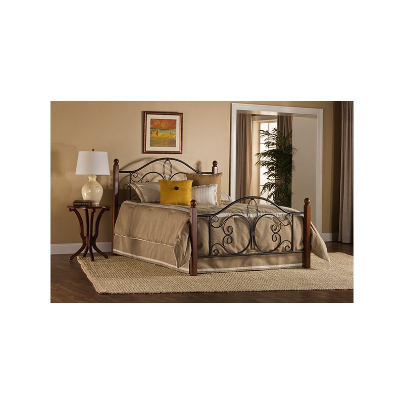 Milwaukee Wood Post King Bed by Hillsdale | Oskar Huber Furniture ...
