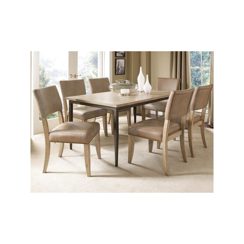 Brilliant Charleston 7Pc Rectangle Dining Set With Parson Chairs By Pdpeps Interior Chair Design Pdpepsorg