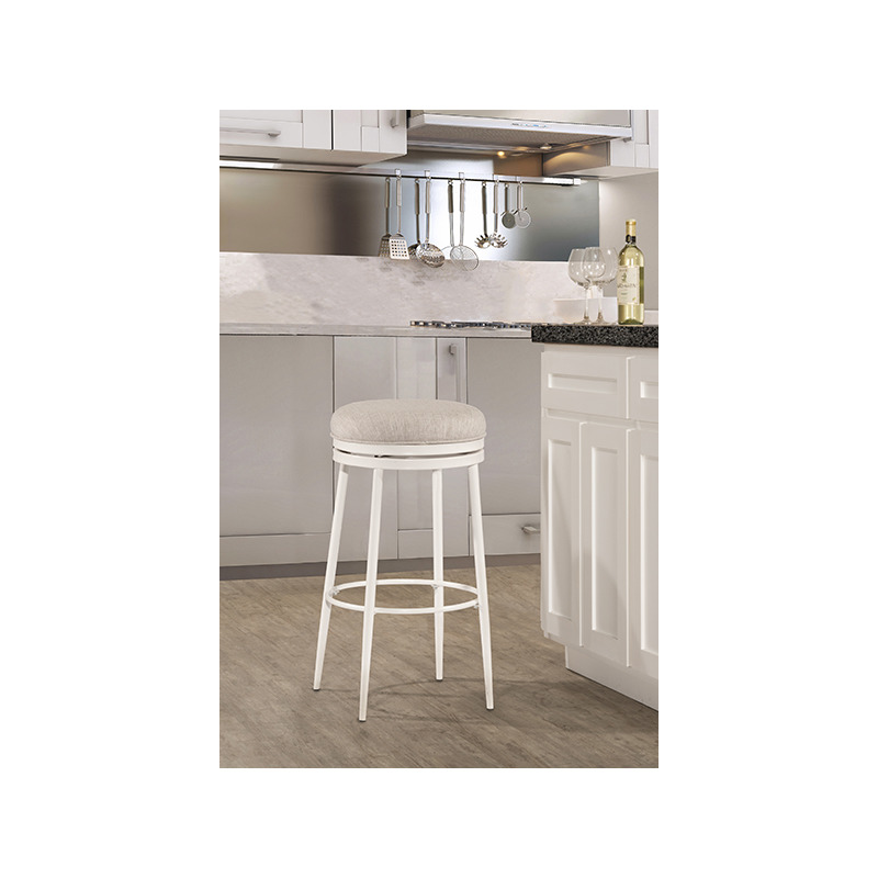 Terrific Aubrie Backless Swivel Counter Stool By Hillsdale Furniture Evergreenethics Interior Chair Design Evergreenethicsorg