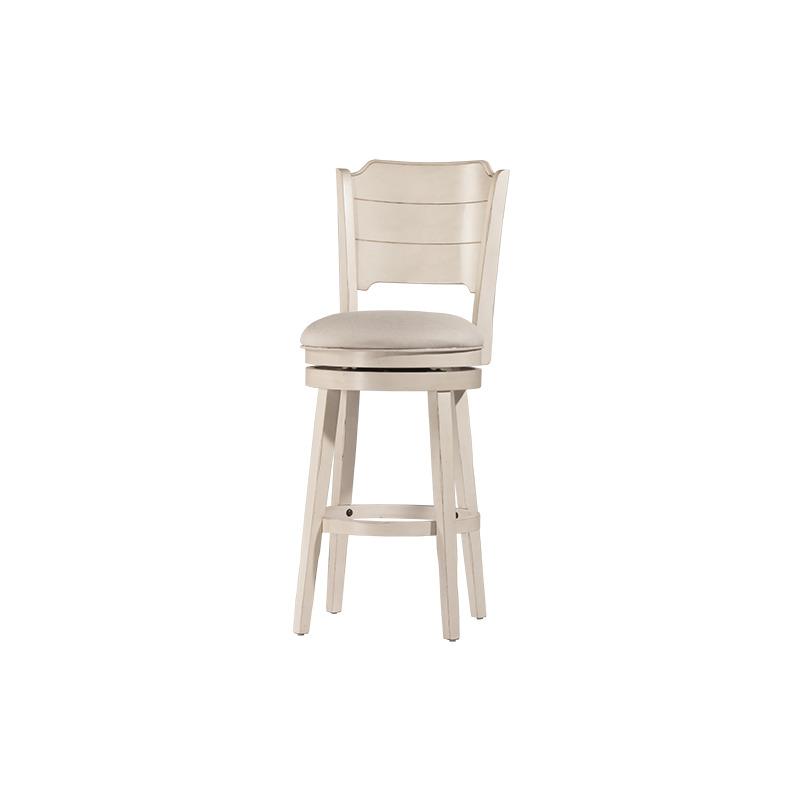 Awe Inspiring Clarion Swivel Counter Stool Sea White By Hillsdale Creativecarmelina Interior Chair Design Creativecarmelinacom