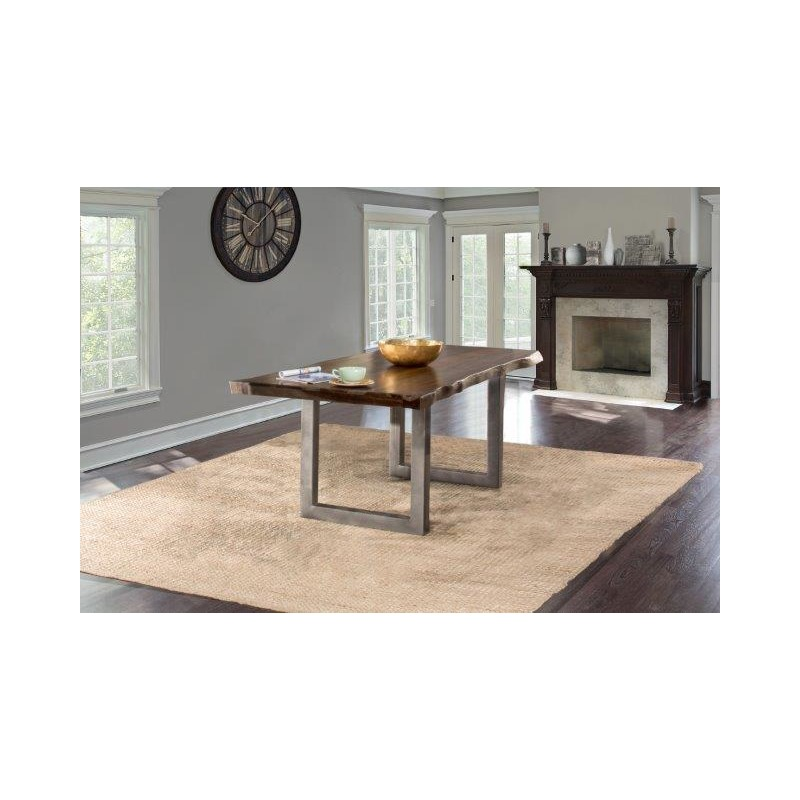 Sensational Emerson Rectangle Dining Table Gray Sheesham Pdpeps Interior Chair Design Pdpepsorg