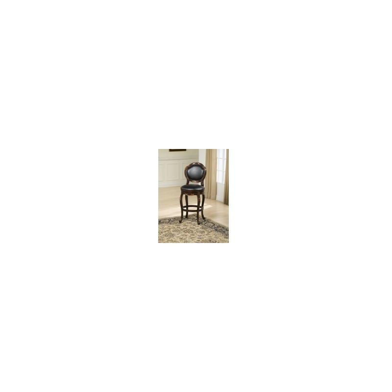 Brilliant Alaina Swivel Bar Stool By Hillsdale Furniture 63370 Unemploymentrelief Wooden Chair Designs For Living Room Unemploymentrelieforg
