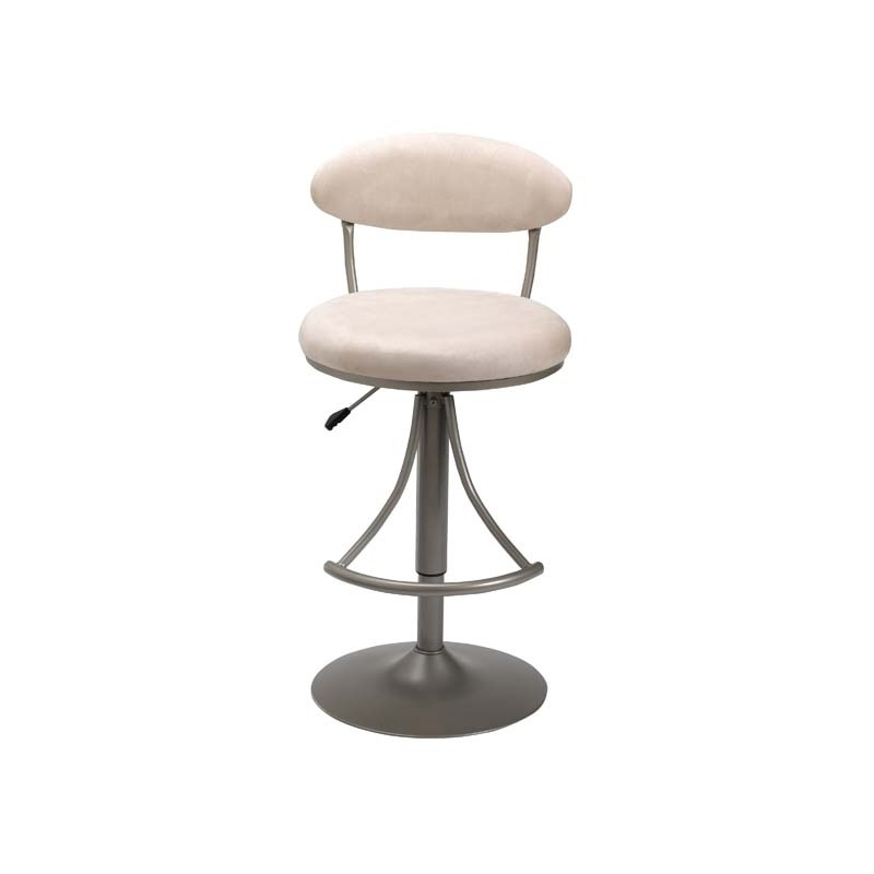 Venus Swivel Adjustable Barstool Fawn