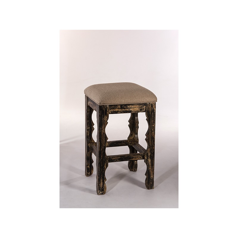 Terrific Carrara Backless Counter Stool Blackwash By Hillsdale Evergreenethics Interior Chair Design Evergreenethicsorg