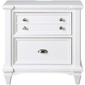 Hilton Head Door Two Drawer Nightstand w/usb