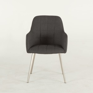 Thompson Gray Felt Dining Chair