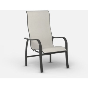 Holly Hill High Back Dining Arm Chair