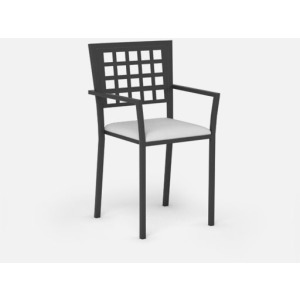 Manhattan  (Steel) Café Chair (Stackable)
