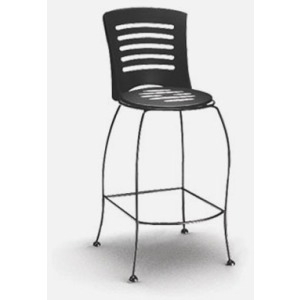 Latte  (Steel) Bar Stool