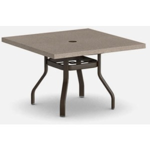 "Stonegate 42"" Square Balcony Table (no hole)"