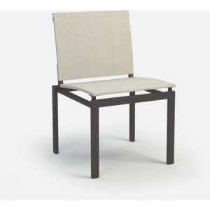 Allure Armless Cafe Chair (Stackable)