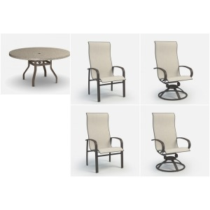 5PC Outdoor Dining Set