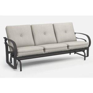 Emory Cushion Low Back Sofa Glider