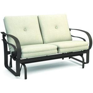 Emory Low Back Loveseat Glider