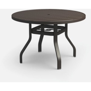 "Breeze 42"" Round Dining Table with Hole"