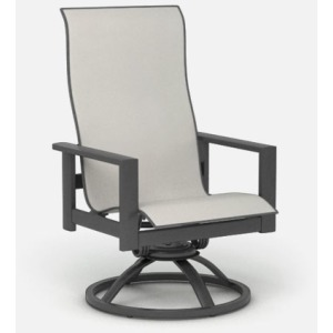 Elements High Back Swivel Rocker