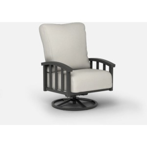 Liberty  (Aluminum) Swivel Rocker Chat Chair