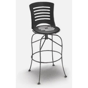 Latte  (Steel) Swivel Bar Stool
