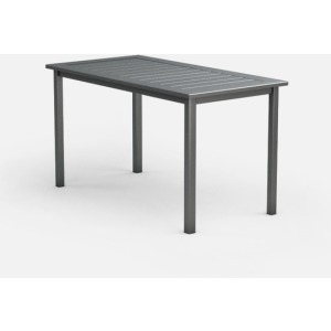 "Dockside Slat 32"" x 62"" Balcony Table"