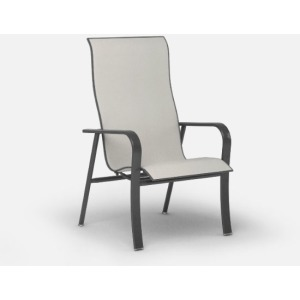 Kashton  (Aluminum) High Back Dining Chair