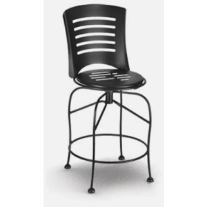 Latte  (Steel) Swivel Balcony Stool