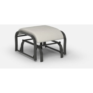 Holly Hill Cushion Dining  (Aluminum) Gliding Ottoman