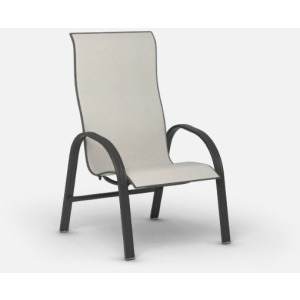 Palisade  (Steel) High Back Dining Chair