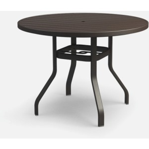 "Breeze 48"" Bar Table with Hole"