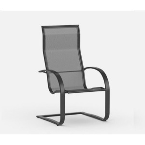 Lana  (Aluminum) Spring Base Dining Chair