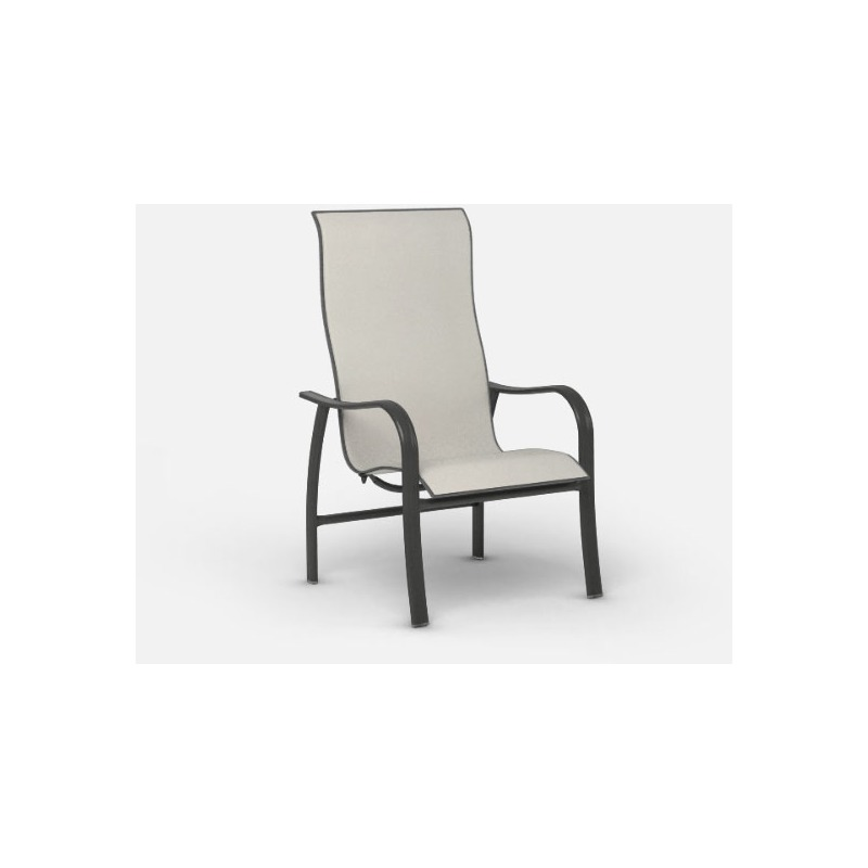 Holly Hill  (Aluminum) High Back Dining Chair