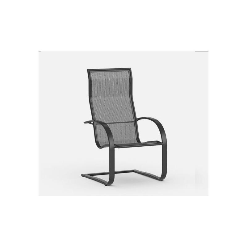 Lana  (Aluminum) Spring Base Dining Chair