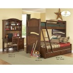 ARIS COLLECTION TWIN/FULL BUNK BED