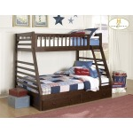 DREAMLAND COLLECTION TWIN/FULL BUNK BED