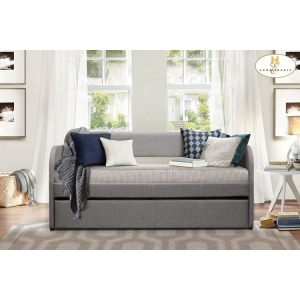 Daybed with Trundle  Daybed:  80.75 x 40.5 x 39.5H  Trundle:  75.75 x 40.5 x 12.25H