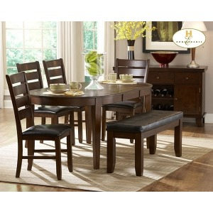 AMEILLIA COLLECTION OVAL TABLE
