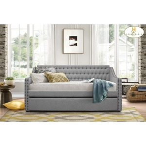 Daybed with Trundle  Daybed:  83.75 x 44 x 41.25H  Trundle:  75.75 x 40.25 x 11.75H