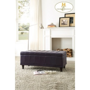 Lift Top Storage Bench, Purple
