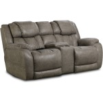 Daytona Triple-Power Reclining Loveseat w/ Console