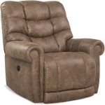 Tank Big & Tall Wall-Saver Power Recliner in Silt