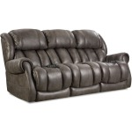 Atlantis Double Reclining Power Sofa