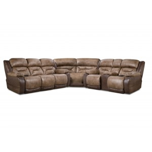3 PC Power Sectional