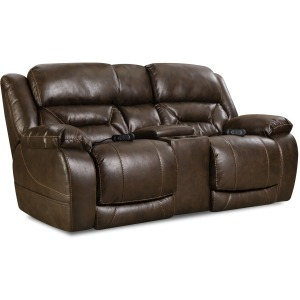 Enterprise Power Reclining Loveseat w/Console