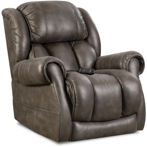 Atlantis Triple Power Wall-Saver Recliner in Slate