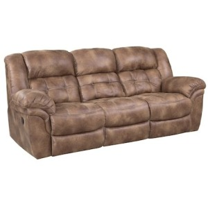 Double Reclining Power Sofa