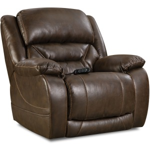 Enterprise Triple Power Wall-Saver Recliner in Walnut