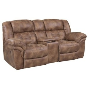 Frontier Power Reclining Loveseat w/Console