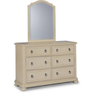 Chambre Dresser with Mirror