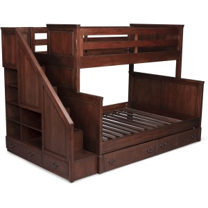 Aspen Twin Over Full Bunk Bed