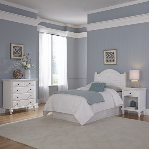 Penelope Twin Headboard, Nightstand and Chest