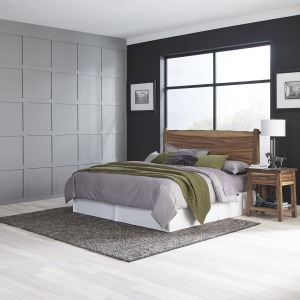 Forest Retreat King Headboard and Nightstand